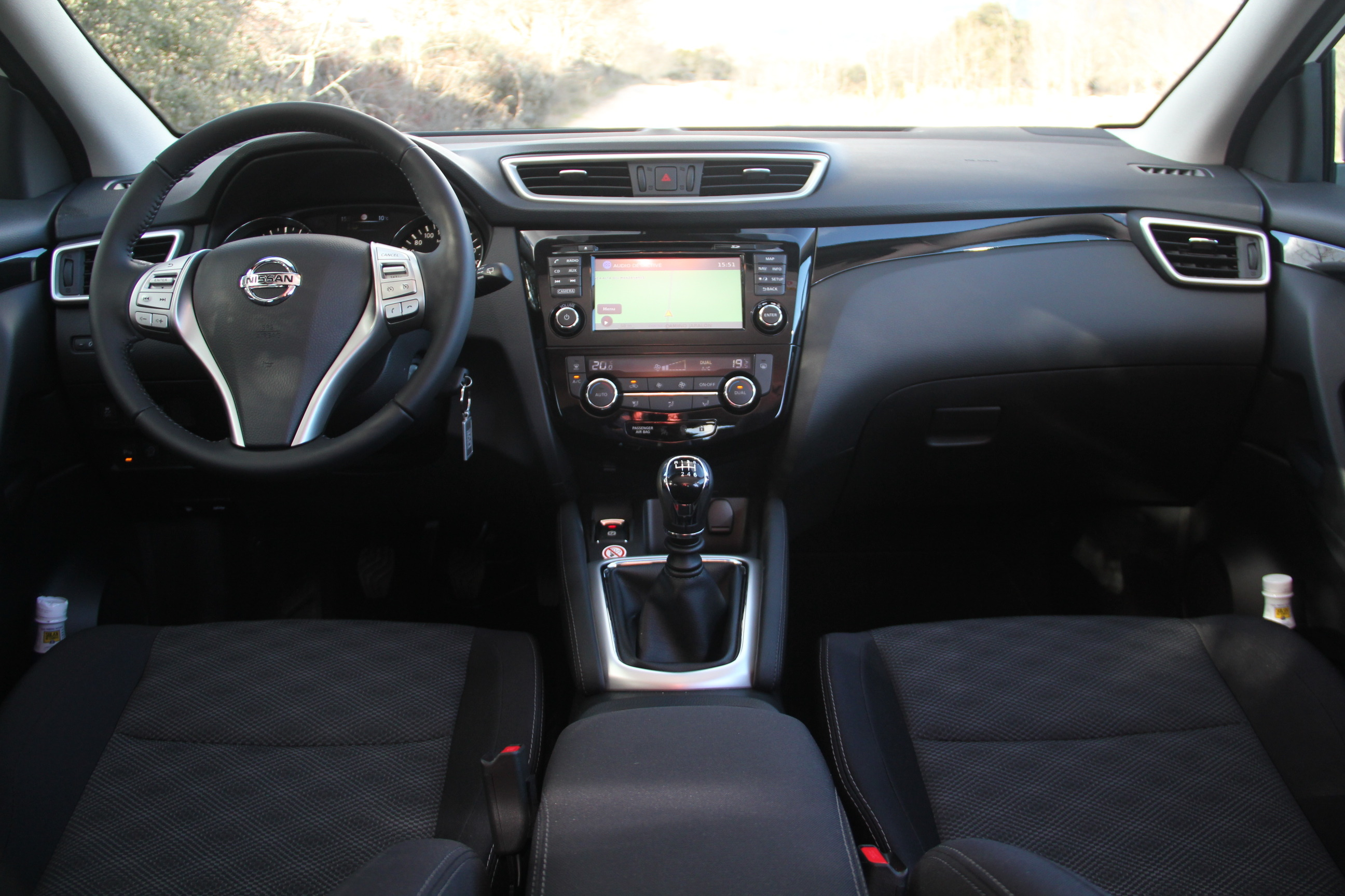 Bataille des suv comparatifs forum autobip for Qashqai 2016 interieur